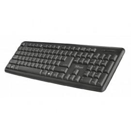 Клавиатура, с кабел, USB, Ziva