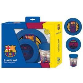 Комплект за хранене Barcelona, чиния, купа, чаша