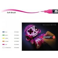 Маркер четка флуоресцентен GRAFX Pump UV, 1 мм