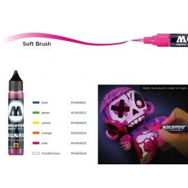 Мастило за маркер четка флуоресцентен UV, 30 мл