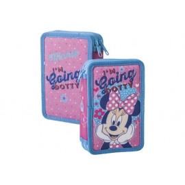 Несесер зареден двоен, Minnie Mouse Dotty, 12.5x19.5x5