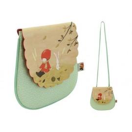 Чанта за рамо Poppi Loves Autumn, 17х18.5х1