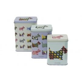 Комплект кутии метални Scottie Dogs, 3 бр., малка, средна и голяма