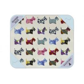 Подложка за мишка Scottie Dogs, 25х21