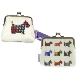 Портмоне с клипс Scottie Dogs, 11х10.5х3