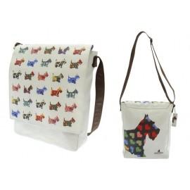 Чанта за рамо Scottie Dogs, 26х33х9