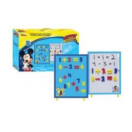 Дъска магнитна Mickey с 35 бр.цифри и знаци
