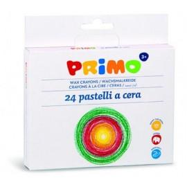 Пастел восъчен Jumbo, 24 цвята Ø 10,5 x 98 мм