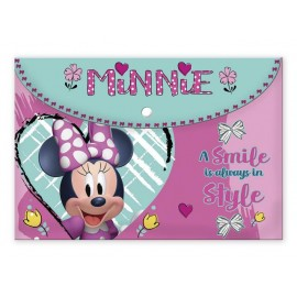 Папка с копче Minnie, А4