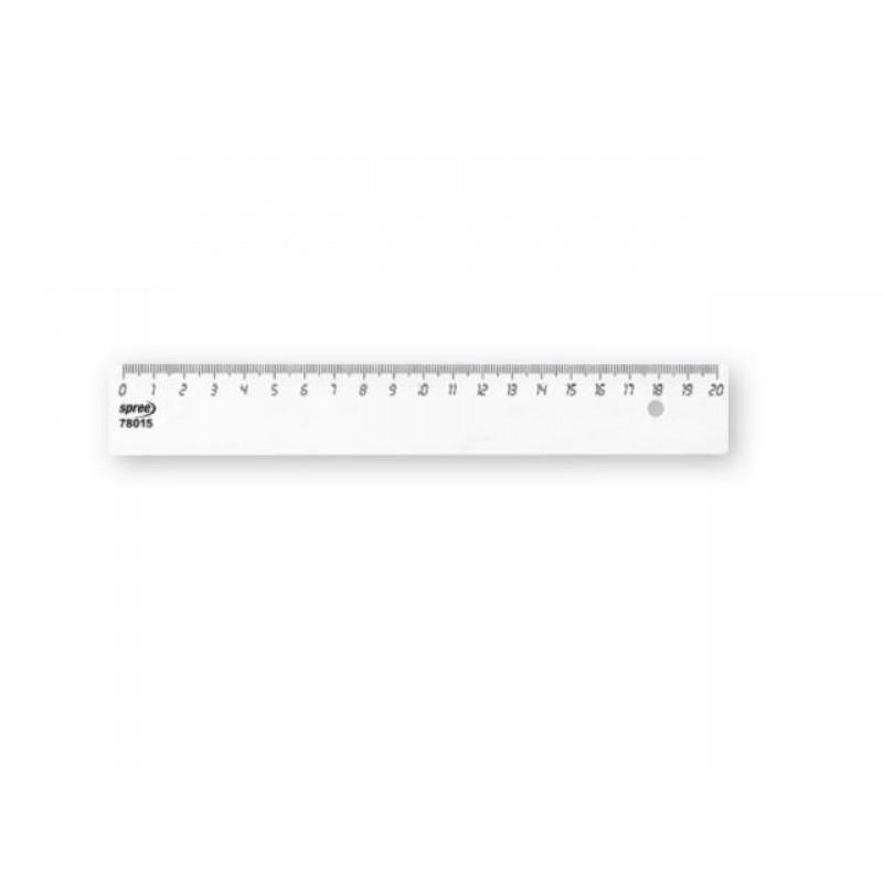 Линия прозрачна, 20 см, ширина 32 мм