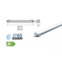 Осветително тяло влагозащитено AL/PC G-Серия